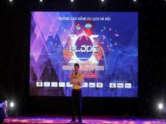 Sinh viên cao đẳng du lịch Hà Nội bùng nổ với đêm nhạc chào mừng tân sinh viên
