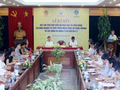"""Thứ trưởng Bộ KH&CN Phạm Công Tạc : """"xây dựng thương hiệu cho sản phẩm nông sản trở thành một yêu cầu cấp bách"""""""