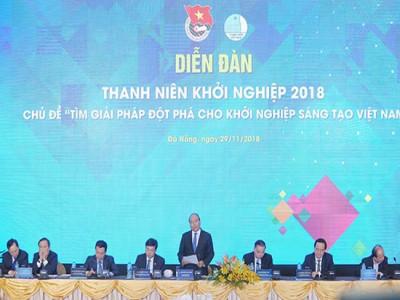 Thủ tướng Chính phủ chủ trì Diễn đàn Thanh niên khởi nghiệp 2018