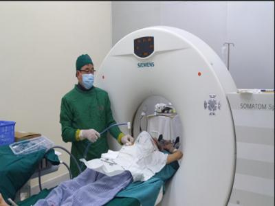 Bệnh viện Phổi Trung ương triển khai thành công kỹ thuật đốt u phổi bằng vi sóng dưới hướng dẫn cắt lớp vitính.