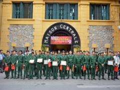 Quận đoàn Tây Hồ dâng hương các anh hùng liệt sĩ Di tích Nhà tù Hỏa Lò