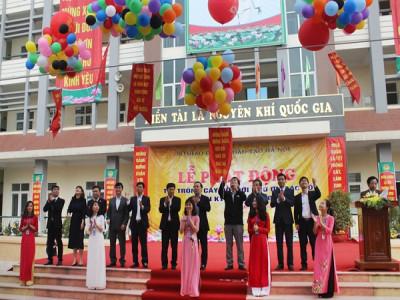 Ngành Giáo dục và Đào tạo Hà Nội phát động Tết trồng cây Xuân Kỷ Hợi năm 2019