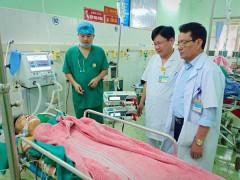 Cứu sống bệnh nhân sốc mất máu nặng, suy hô hấp  do đa chấn thương sau tai nạn giao thông