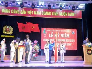 Đoàn thanh niên Học viện An ninh Nhân dân đón nhận Huân chương Bảo vệ Tổ quốc hạng Nhất