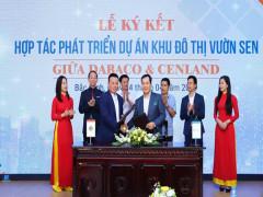 Dabaco Group và CenLand ký kết hợp tác phát triển dự án KĐT Vườn Sen