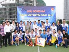 Đã tìm ra chủ nhân chức vô địch Giải bóng đá VNPT 2019