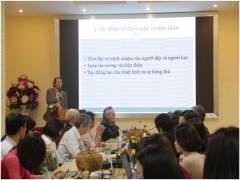 Hội nghị khoa học về Chương trình và Phương pháp giảng dạy tiếng Anh