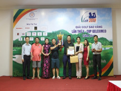 60 Golfer tham gia tranh tài tại Giải Golf Sao vàng lần thứ V - Cup Geleximco năm 2019