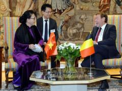 Chủ tịch Quốc hội bắt đầu chuyến thăm làm việc tại Nghị viện châu Âu