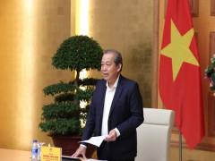 Phó Thủ tướng Thường trực: Mở đợt cao điểm trấn áp khai thác cát trái phép