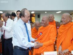 Thủ tướng chung vui Tết cổ truyền Chôl Chnăm Thmây với đồng bào Khmer