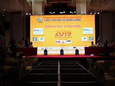 Liên chi hội Cơ Điện Lạnh tổ chức Gala