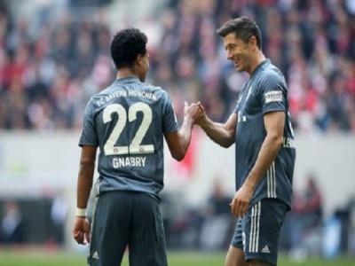Bayern tiếp tục giữ ngôi đầu bảng xếp hạng Bundesliga sau vòng 29