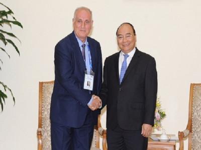 Thủ tướng tiếp đoàn các hãng thông tấn châu Á-Thái Bình Dương