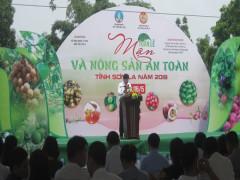 Tuần lễ Mận và nông sản an toàn tỉnh Sơn La diễn ra từ ngày 22/5 đến ngày 26/5