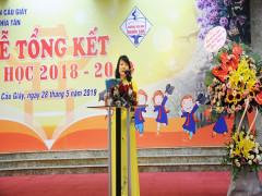 Trường Tiểu học Nghĩa Tân tổng kết năm học 2018 - 2019