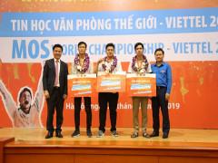 3 nhà vô địch quốc gia sẽ tranh tài tại Cuộc thi Tin học Văn phòng Thế giới