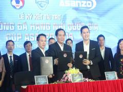 Asanzo trở thành nhà tài trợ chính cho Giải Bóng đá Hạng nhì Quốc gia CUP ASANZO 2019