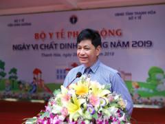 Bài phát biểu của  GS.TS Lê Danh Tuyên tại lễ phát động ngày vi chất dinh dưỡng năm 2019