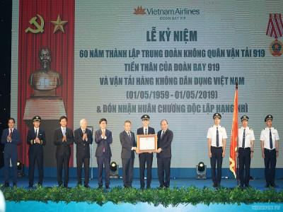 Thủ tướng mong muốn Vietnam Airlines sớm trở thành hãng hàng không 5 sao