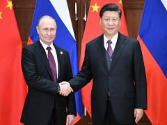 Chủ tịch Trung Quốc thăm Nga giữa lúc căng thẳng gia tăng với Mỹ