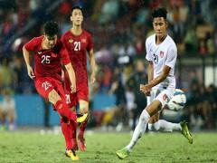 U23 Việt Nam chiến thắng trong trận cầu giông gió ở Phú Thọ