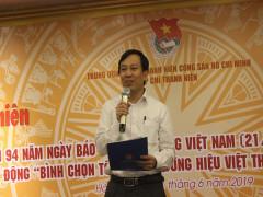 """Phát động """"Bình chọn thương hiệu Việt thanh niên yêu thích – Lần thứ 2"""""""
