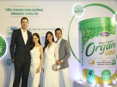 Vinamilk Organic Gold – sữa công thức trẻ em chuẩn organic châu Âu đầu tiên sản xuất tại Việt Nam