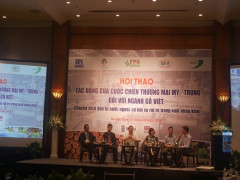 Hội thảo tác động của cuộc chiến thương mại Mỹ - Trung đối với ngành gỗ Việt Nam
