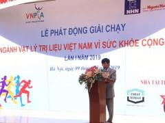"""Giải chạy """"Ngành Vật lý trị liệu Việt Nam vì sức khỏe cộng đồng"""" lần I năm 2019"""