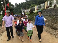 Tỉnh đoàn Yên Bái: Khánh thành bàn  giao Công trình