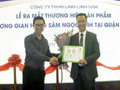 Linh Linh Sâm ra mắt thương hiệu sâm Ngọc Linh tại Hoàn Kiếm