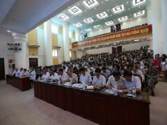 Trường Đại học Kinh doanh và Công nghệ Hà Nội tổ chức Hội nghị tập huấn nghiệp vụ coi thi THPT quốc gia năm 2019