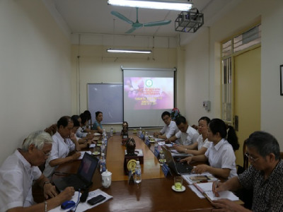 Đón tiếp Công ty Cổ phần VinFa thăm và làm việc với Khoa Dược – Trường ĐH Kinh doanh và Công nghệ Hà Nội