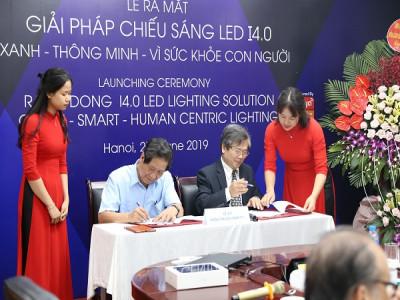 Ra mắt giải pháp chiếu sáng LED I4.0 Xanh - Thông minh - Vì sức khỏe con người