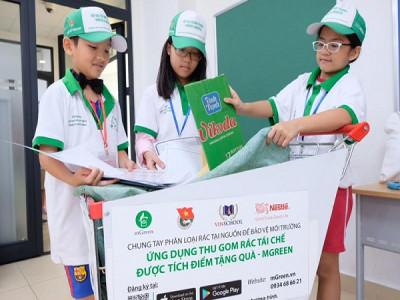 mGreen triển khai các hoạt động bảo vệ môi trường tại trường học và khu dân cư