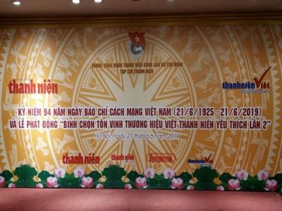 """Thể lệ Bình chọn """"Thương hiệu Việt được thanh niên yêu thích lần thứ 2"""""""