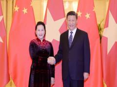 Chủ tịch Quốc hội hội kiến Tổng Bí thư, Chủ tịch Trung Quốc Tập Cận Bình