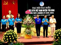 Yên Bái: Hoàn thành Đại hội Hội LHTN Việt Nam cấp huyện