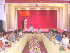 Yên Bái: Chuẩn bị tốt cho Đại hội đại biểu Hội LHTN Việt Nam tỉnh Yên Bái lần thứ V, nhiệm kỳ 2019 – 2024