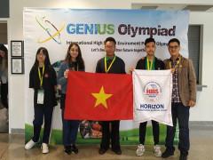 Học sinh Trường quốc tế Horizon giành giải cao tại kỳ thi GENIUS Olympiad 2019