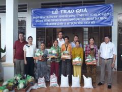 Tặng nhà tình thương cho các gia đình có hoàn cảnh khó khăn ở tỉnh Gia Lai và Cà Mau