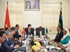 Tăng cường quan hệ chính trị, khuyến khích hợp tác doanh nghiệp Việt Nam-Tanzania