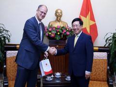 Quan hệ Việt-Đức đang phát triển tích cực