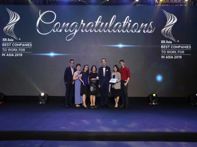Vinh dự nhận giải thưởng nơi làm việc tốt nhất Châu Á 2019