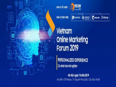 Diễn đàn Tiếp thị trực tuyến 2019  (Vietnam Online Marketing Forum) - VOMF 2019