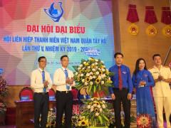 Đồng chí Nguyễn Thị Phương Dung trúng cử Chủ tịch Hội LHTN Việt Nam quận Tây Hồ