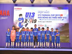 Yamaha Việt Nam tiếp  tục đồng hành cùng giải bóng đá thiếu niên U13 Yamaha Cup