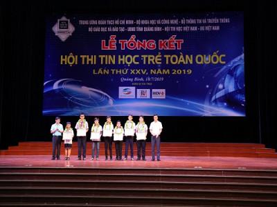 Tổng kết Hội thi Tin học trẻ toàn quốc lần thứ XXV - năm 2019