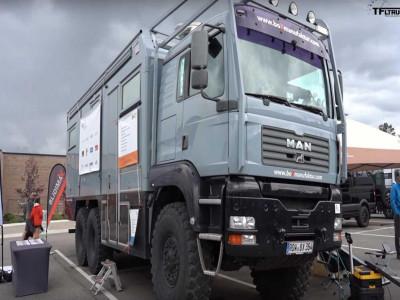 TNV - Chiếc xe 6x6 nặng 26 tấn này là phương tiện off-road kết hợp cắm trại như trong mơ